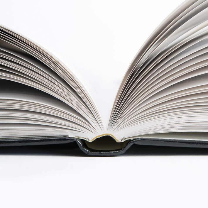 hardcover boek gebonden
